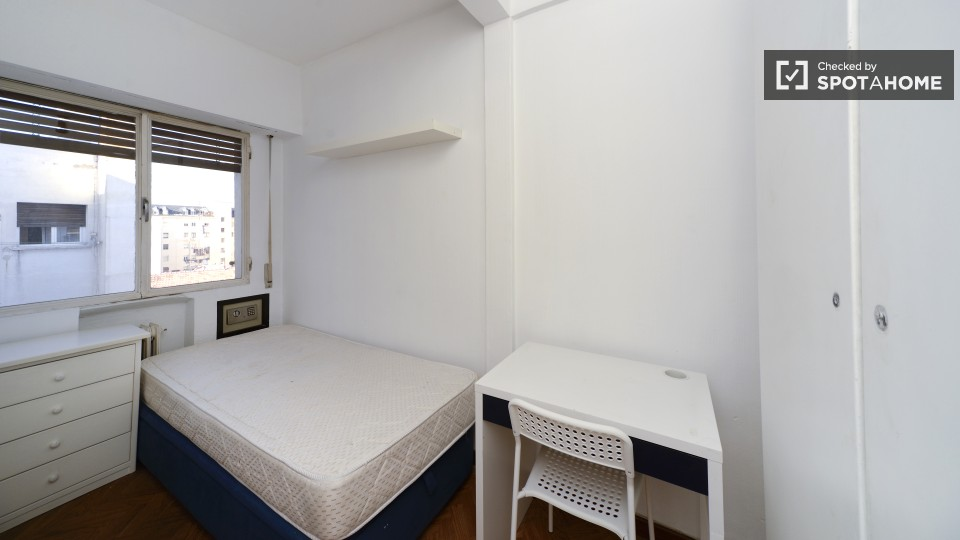 $513 room for rent Chamberi Zona Centro, Madrid