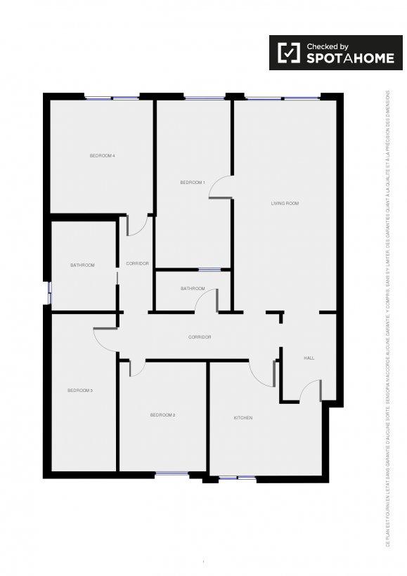 Plan de la propriété