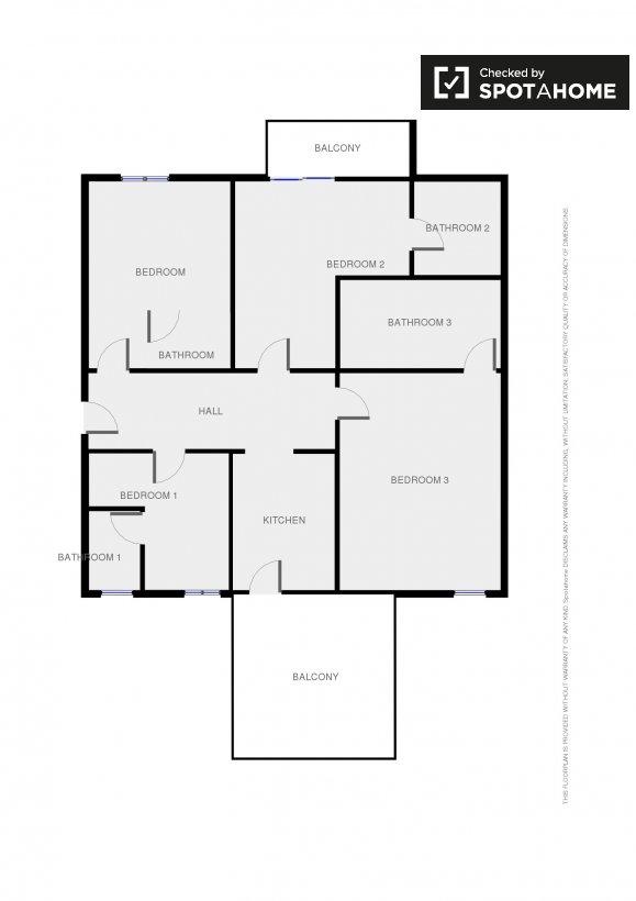 Planimetria di un appartamento for Planimetria stanza
