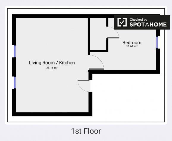 New 1 Bedroom Apartment For Rent In Stoneybatter Dublin Ref 138428 Spotahome