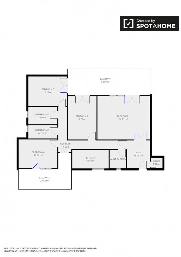 Ampia camera con vista in appartamento a monte mario roma - Posso andare in bagno in inglese ...