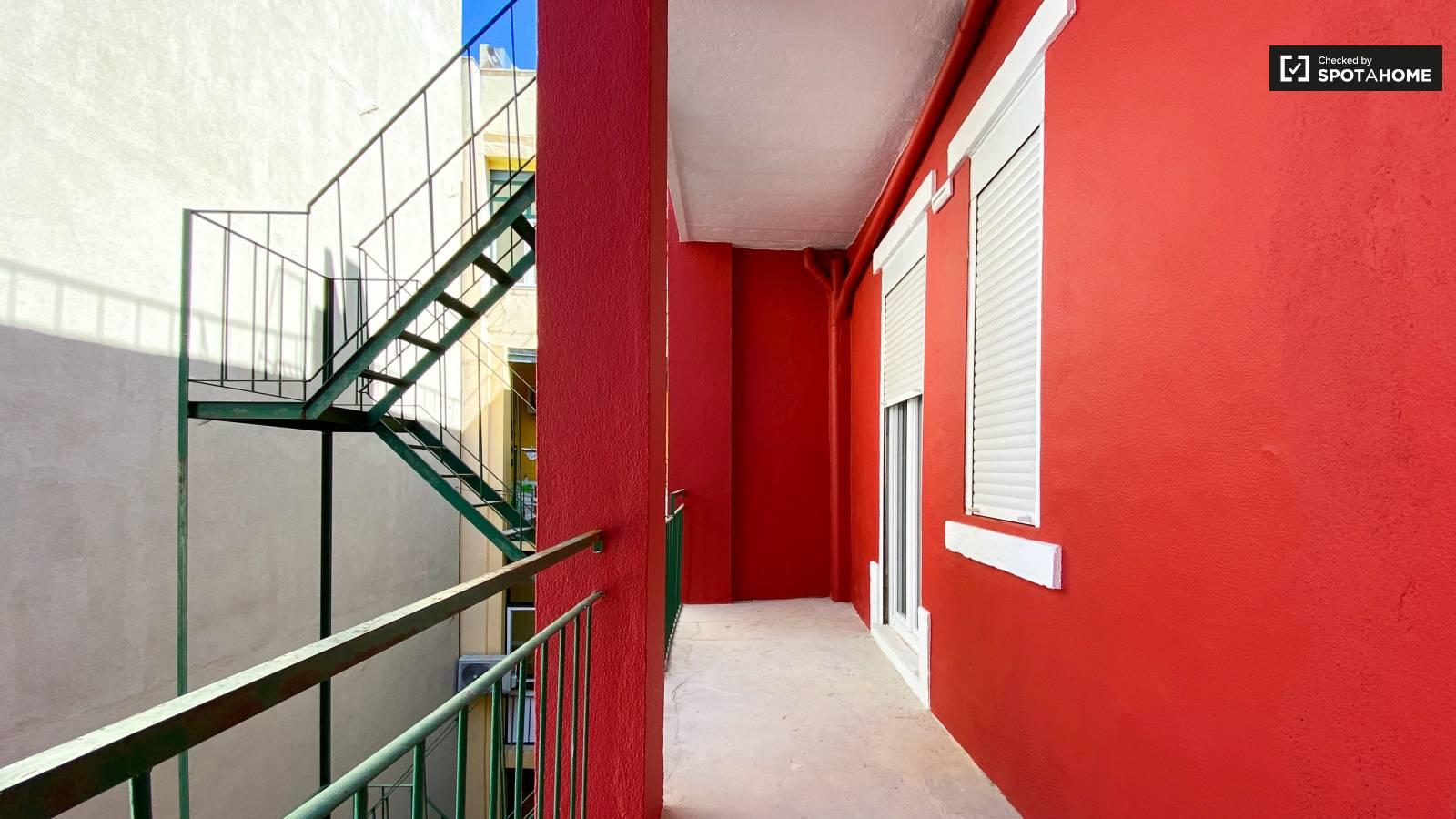 Bedroom 4 and 5's Balcony