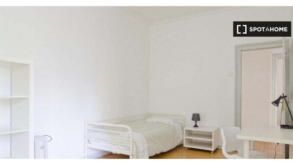 Camera in affitto ad Avenidas Novas, Lisbona Lisbona € 450 al mese