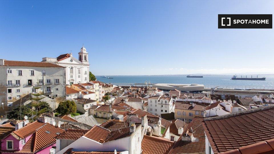 Alloggio in Residence in affitto ad Alfama Lisbona € 1500 al mese