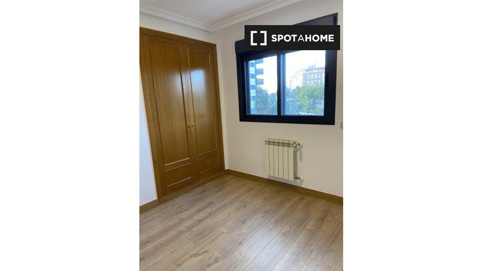 Habitación en piso compartido en madrid.