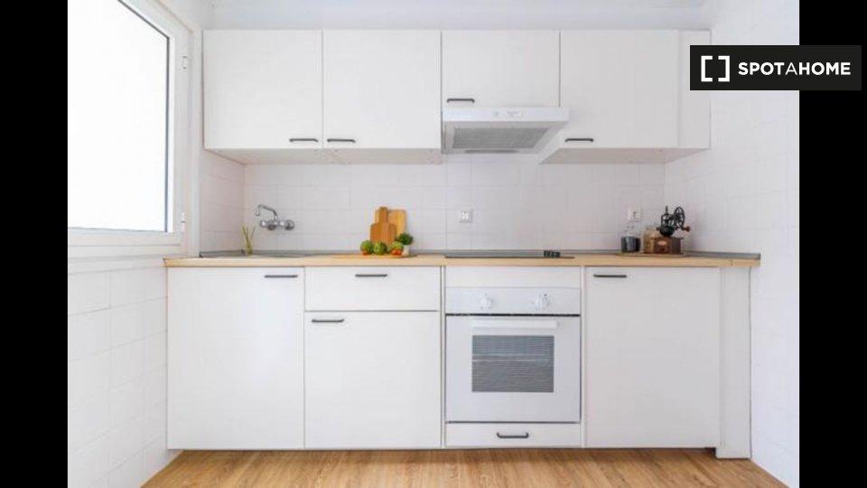Apartamento entero de 2 habitaciones en Fabraquer