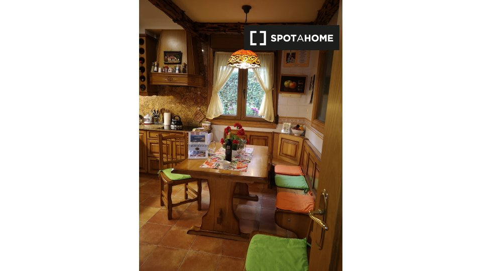 Apartamento entero de 1 dormitorio en Donostia