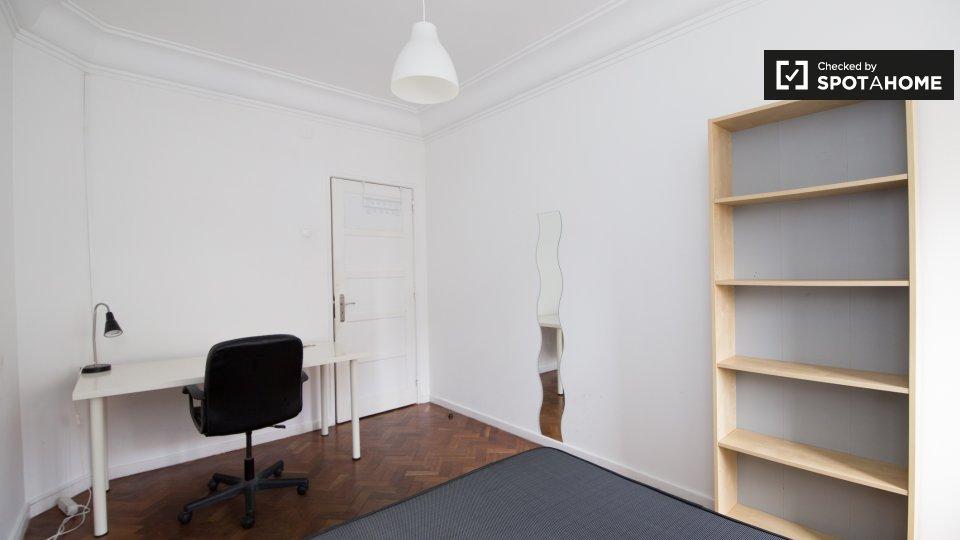 Camera in affitto a Arroios Lisbona € 465 al mese