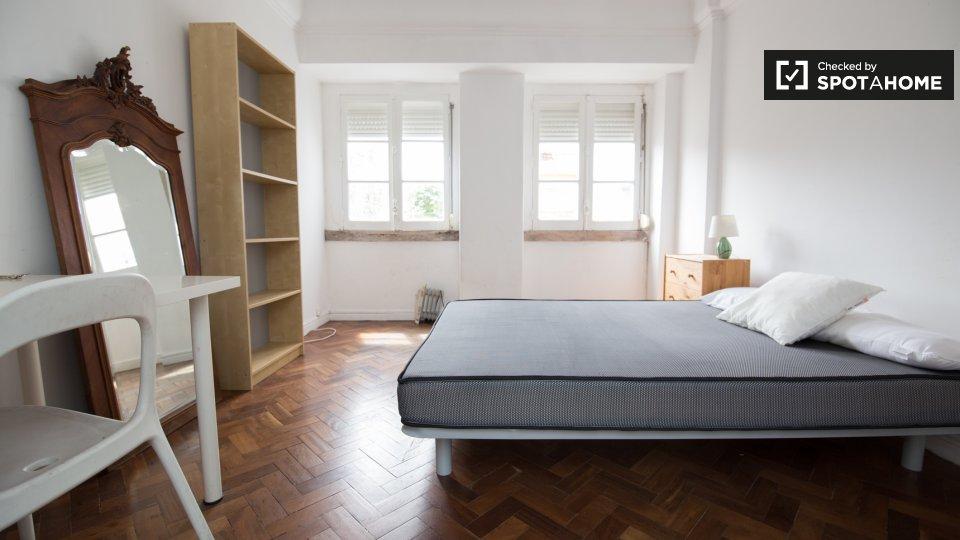 Camera in affitto a Arroios Lisbona € 480 al mese