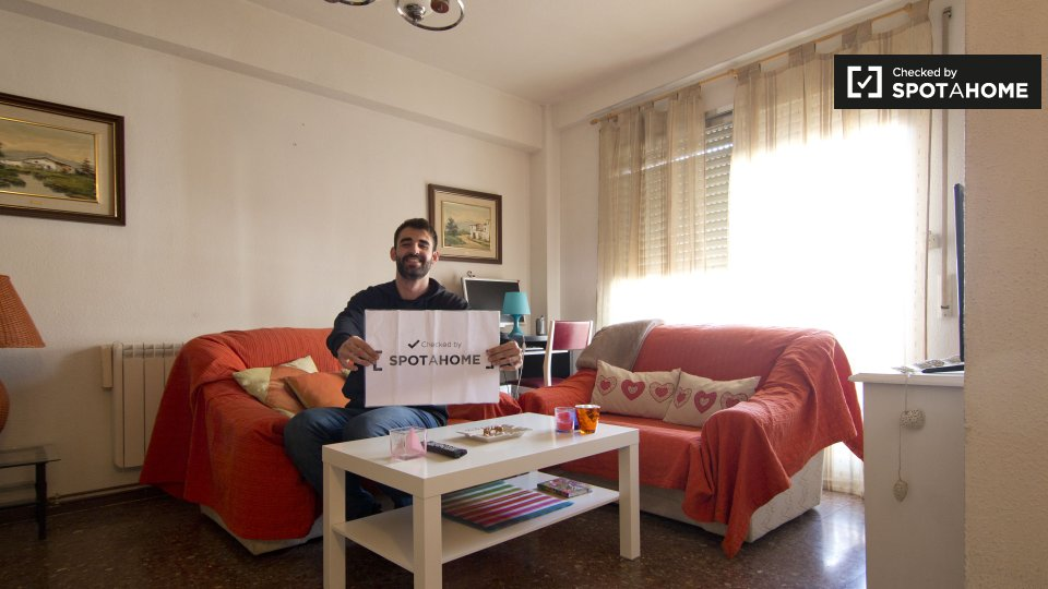 Habitaci n acogedora en alquiler en un piso de 3 habitaciones en m stoles madrid ref 201163 - Casas en mostoles ...