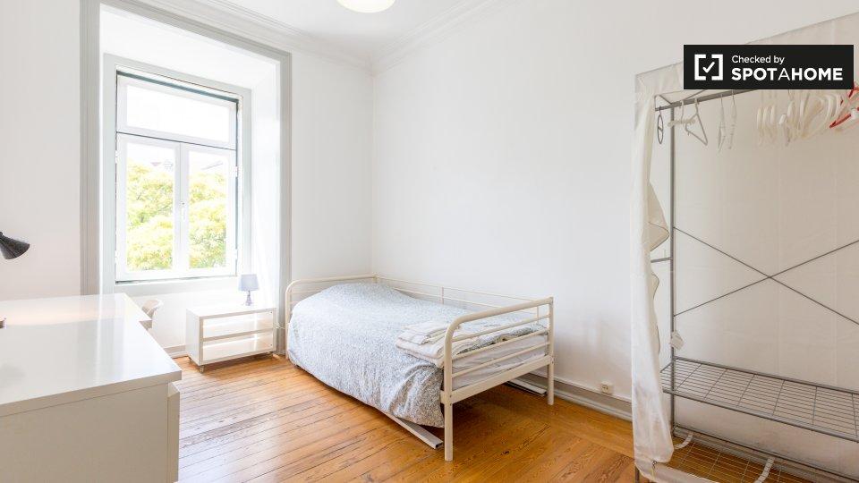Camera in affitto ad Avenidas Novas Lisbona € 450 al mese