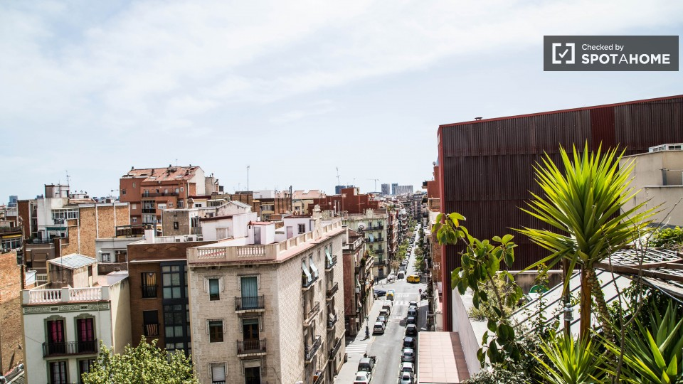 Studio apartment with big rooftop terrace in classy for 1161 dawn view terrace