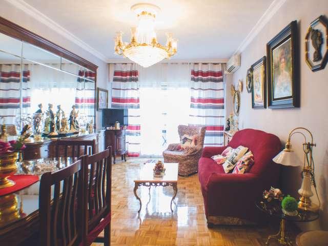 3-Zimmer-Wohnung mit AC zu vermieten in Retiro, Madrid