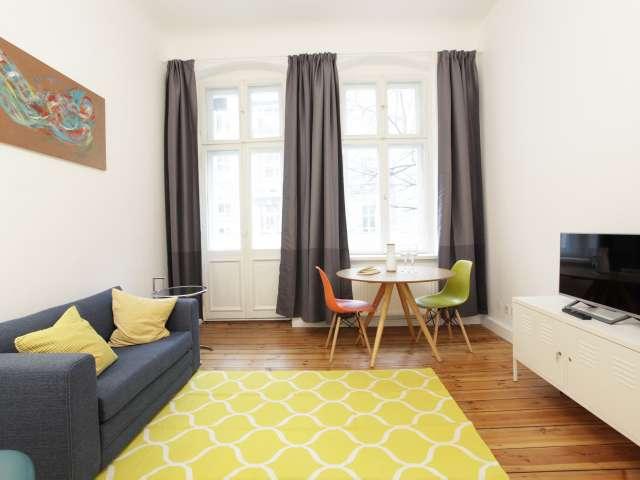 1-Zimmer-Wohnung mit Balkon in Friedrichshain, Berlin