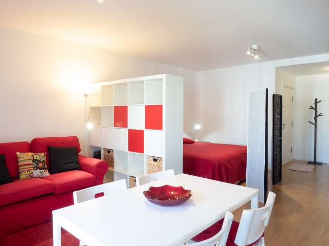 Stylish studio apartment for rent in Avenidas Novas, Lisbon