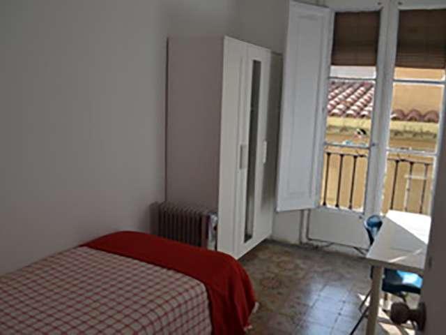 Luminous room in shared apartment in Barri Gòtic, Barcelona