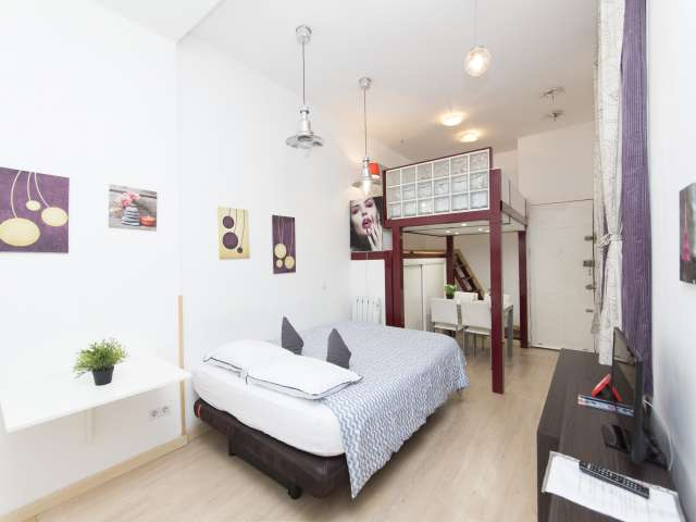 Gemütliches Studio-Apartment zu vermieten in Lavapiés, Madrid
