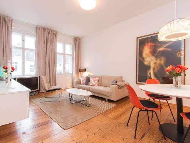 Elegante Wohnung mit 1 Schlafzimmer in Schöneberg zu vermieten