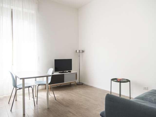 Quiet apartment with 1 bedroom for rent in Stadera, Milan