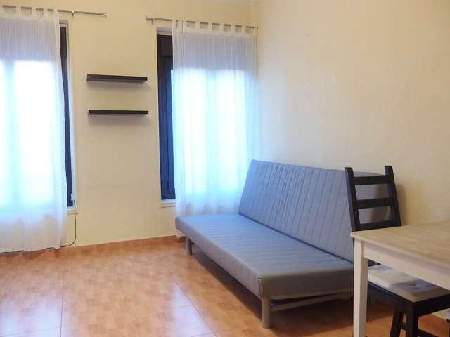 Bright studio apartment for rent in Retiro, Madrid