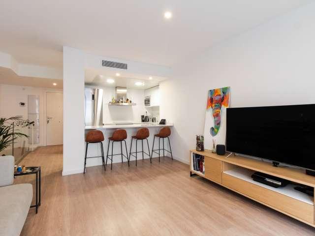 Chic 1-bedroom apartment for rent in Esplugues de Llobregat