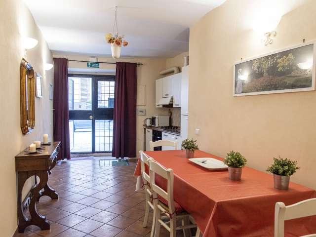 appartamento in affitto in Trastevere, Roma 1 camera da letto