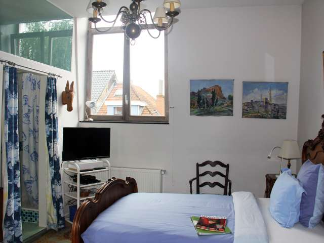 Independent room with garden for rent in Uccle, Brussels