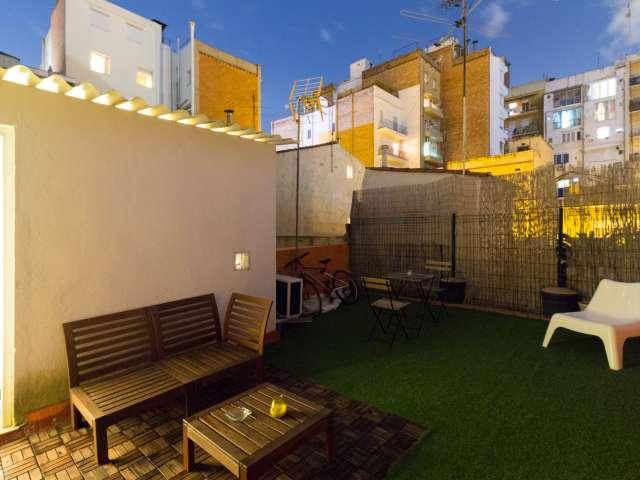 Studio apartment for rent in El Clot, Barcelona
