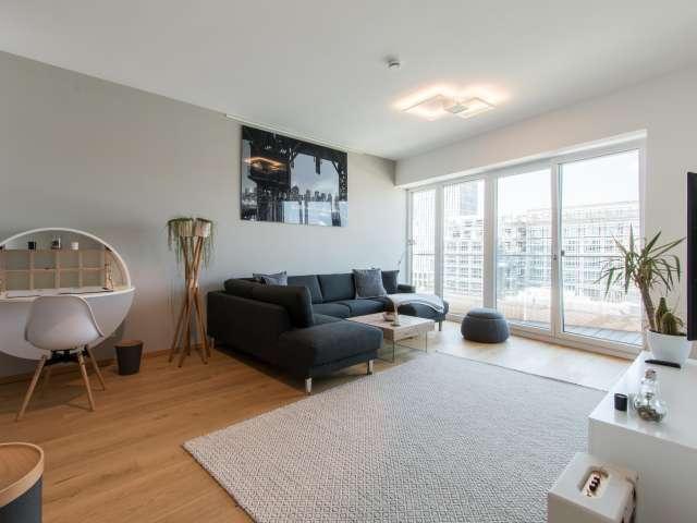 Modernes Apartment mit 1 Schlafzimmer zur Miete in Mitte, Berlin