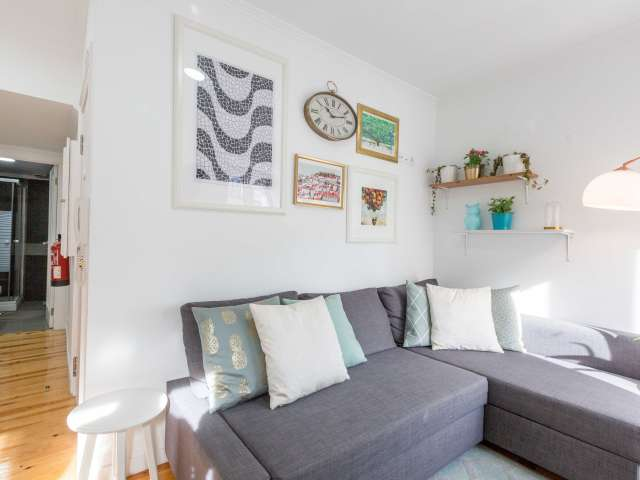 1-bedroom apartment for rent in Castelo, Lisbon