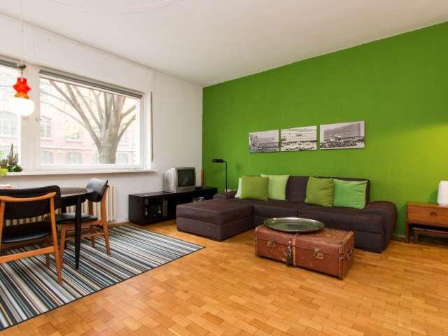 Helle 1-Zimmer-Wohnung zur Miete in Kreuzberg