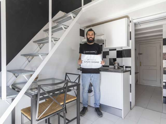 Pleasant studio apartment for rent, Puerta del Ángel, Madrid
