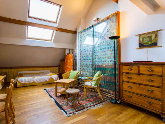 Spacious studio apartment for rent in Anderlecht, Brussels
