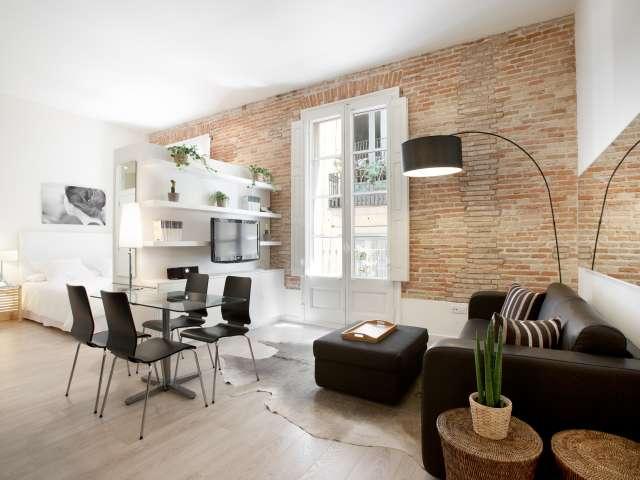 Bonito estudio en alquiler en Barri Gòtic, Barcelona.