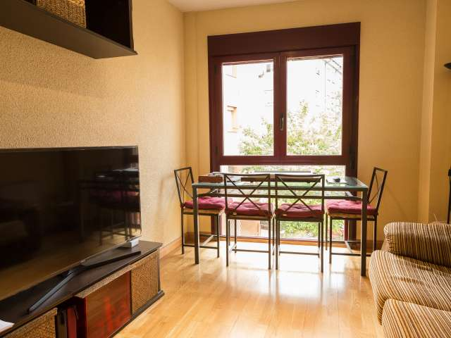 Studio with AC for rent in Puerta del Angel, Madrid