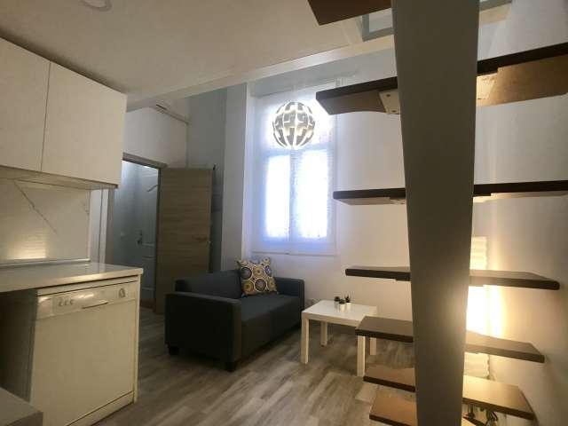 Studio apartment for rent in Carabanchel, Madrid