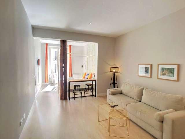 Studio-Wohnung zur Miete in La Latina, Madrid
