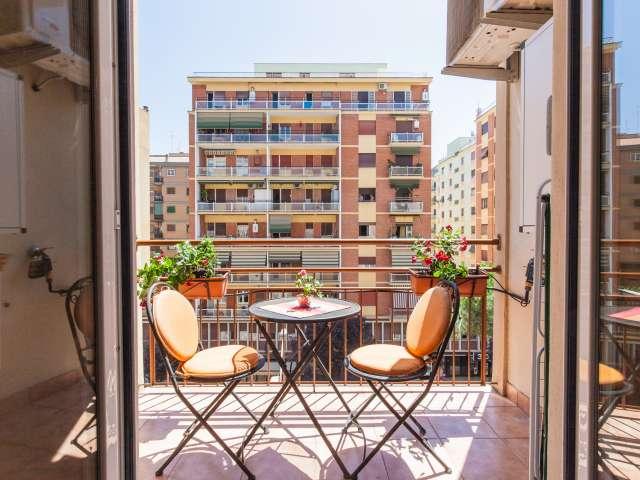 Appartamento di 56 m2 con 1 camera da letto e aria condizionata in affitto - Ostiense, Roma