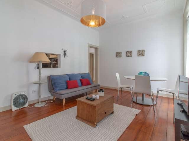 Fantastic 2-bedroom apartment for rent in Estrela, Lisbon