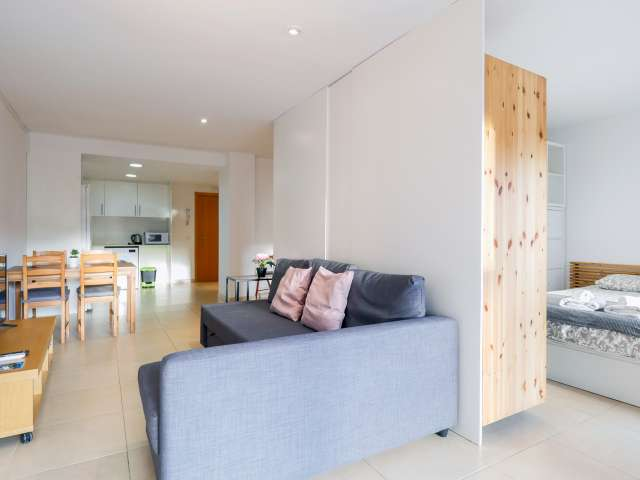 Studio apartment for rent in Sant Martí, Barcelona