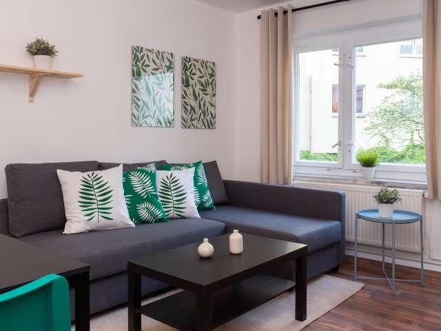 Stilvolle Wohnung mit 1 Schlafzimmer zu vermieten, Friedrichshain