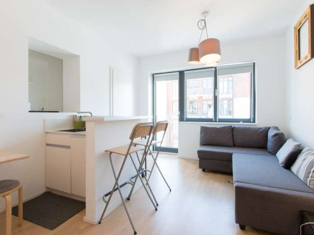 Moderne Wohnung mit 1 Zimmer, Kreuzberg, Berlin