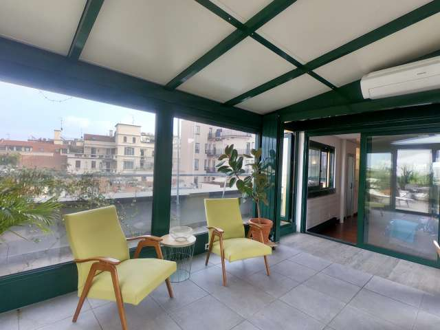 Elegant 1-bedroom apartment for rent in Centro, Milan