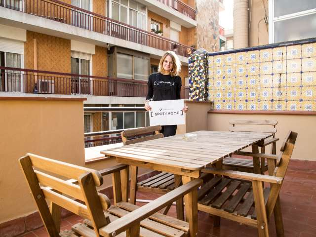 Apartment mit 1 Schlafzimmer in der Nähe der Sagrada Familia - Barcelona
