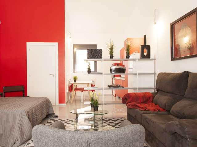 Studio apartment for rent in Ciudad Lineal, Madrid