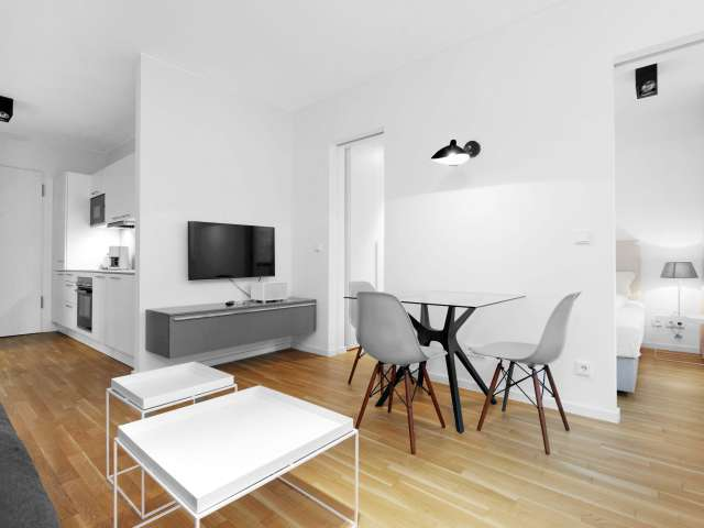 Modern apartment with 1 bedroom for rent in Mitte, Berlin