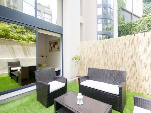 Modern studio apartment for rent in San Blas, Madrid