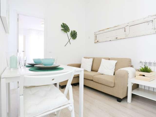 Stilvolle 2-Zimmer-Wohnung zur Miete in Guindalera, Madrid