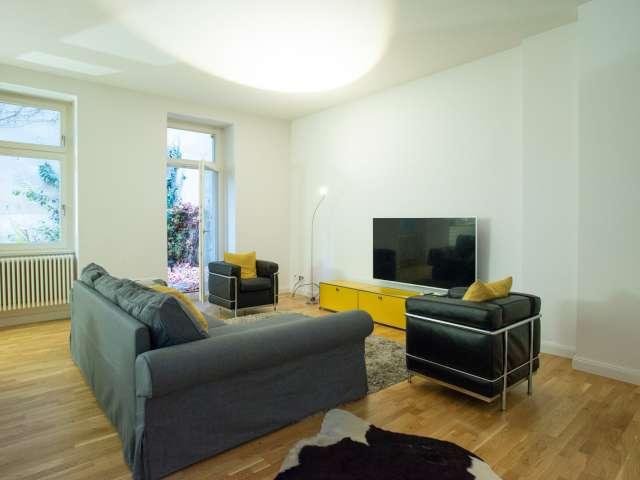 Trendige Wohnung mit 1 Schlafzimmer in Moabit, Berlin zu vermieten