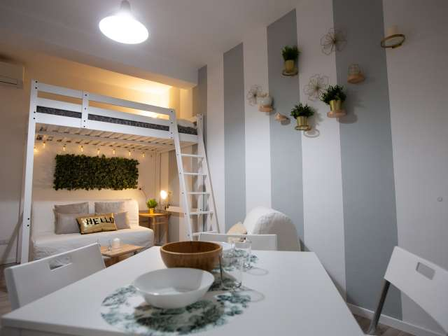 Chic studio apartment for rent in Turro, Milan